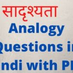 Analogy Questions in Hindi