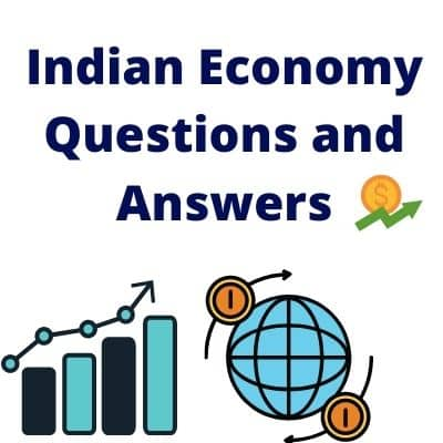 Indian economy questions